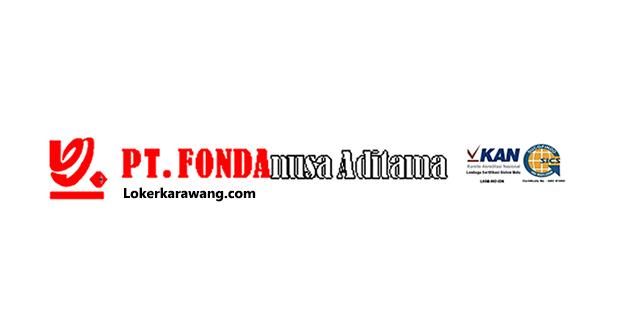 Lowongan Kerja Operator Produksi PT. FONDAnusa Aditama Cikarang