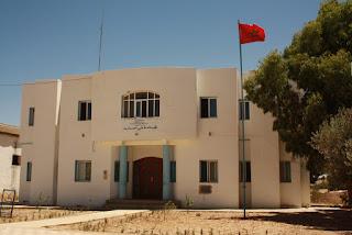 مجموعة مدارس الدالية بجماعة بني عمارت بالحسيمة  لا زالت مغلقة الابواب