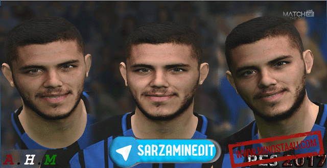 Mauro Icardi - PES 2017 - Face And Hair 2018