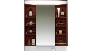 TOTO リモデア 鏡
