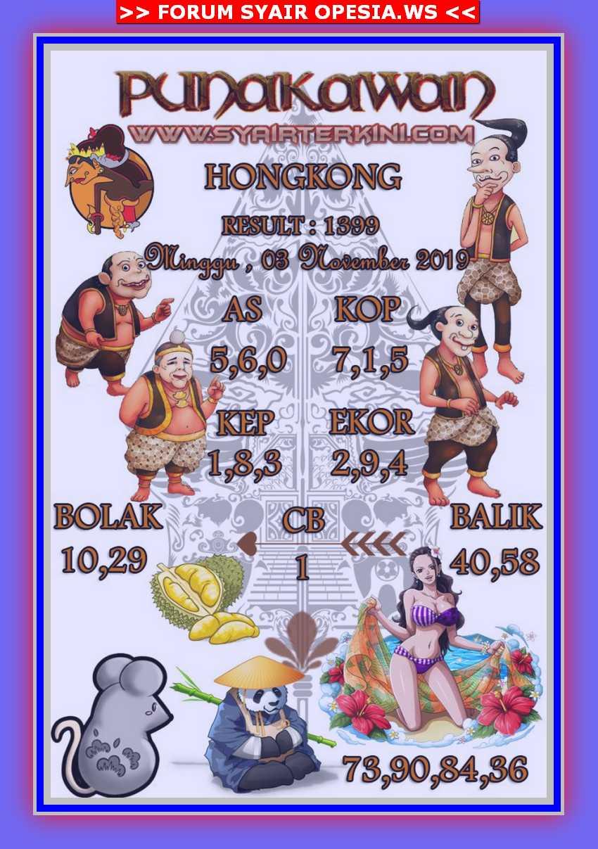 Kode syair Hongkong Minggu 3 November 2019 49