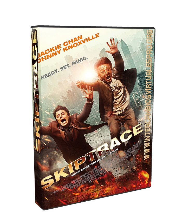 Skiptrace poster box cover