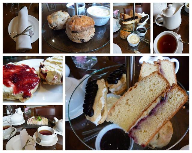 Afternoon Tea Goldstone Hall Shropshire