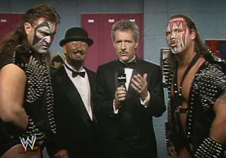 WWF / WWE - Wrestlemania 7:  Demolition Smash and Crush with Master Fuji