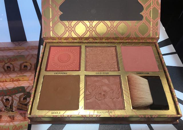 Benefit Blush Bar Cheek Palette   bellanoirbeauty.com