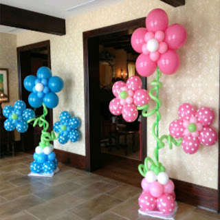 aneka balon dekorasi bunga