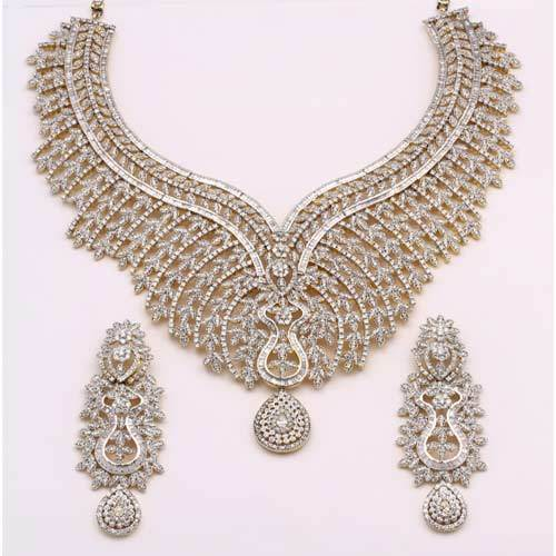 bridal diamond necklace sets