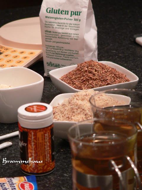 Rezept für ein Low Carb Brot mit wenig Kohlenhydraten