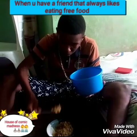 Comic Skit: Find out how to deal with a friend that likes free food [Video]