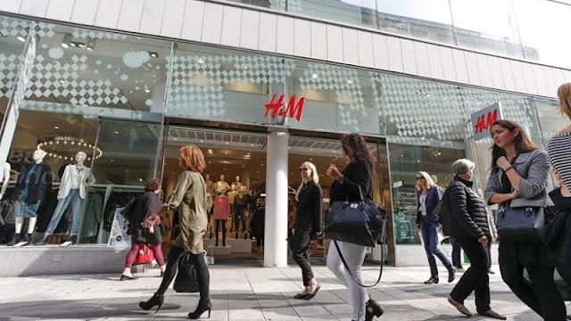 Compras na loja H&M