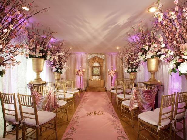 Decoration Ideas For Wedding: Elegant Design For Wedding Party Indoors And Outdoors
