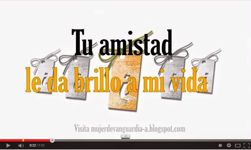 Video de amistad para compartir en facebook