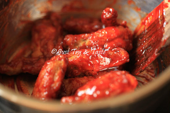 Resep Fire Chicken Wings a la Richeese JTT