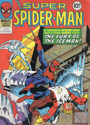 Super Spider-Man #303, The Angel and Iceman