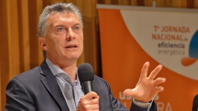"""Macri: Nos quedamos sin luz por """"pésima política"""" de Fernández"""