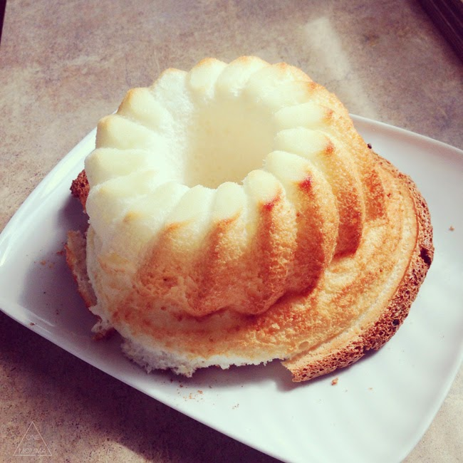 Angel food cake fail