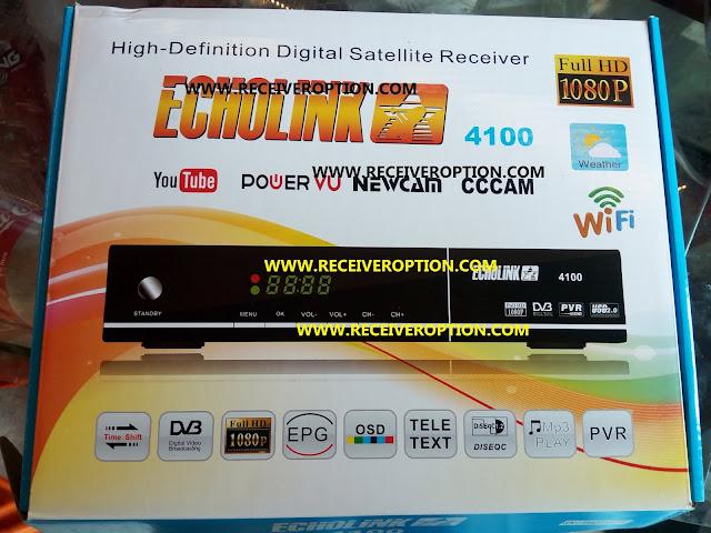 ECHOLINK 4100 HD RECEIVER POWERVU KEY NEW SOFTWARE