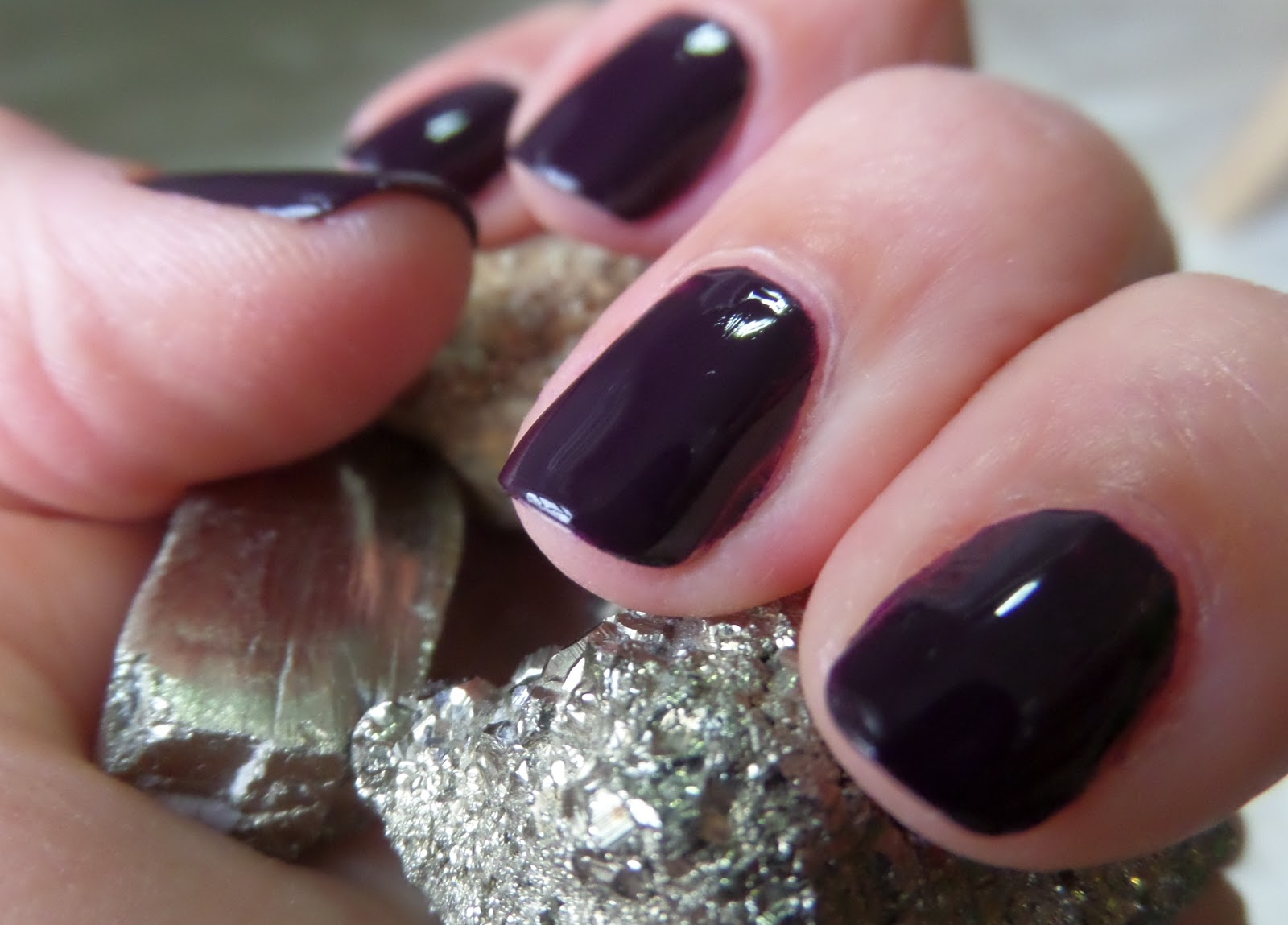 Beauty fall nail polish