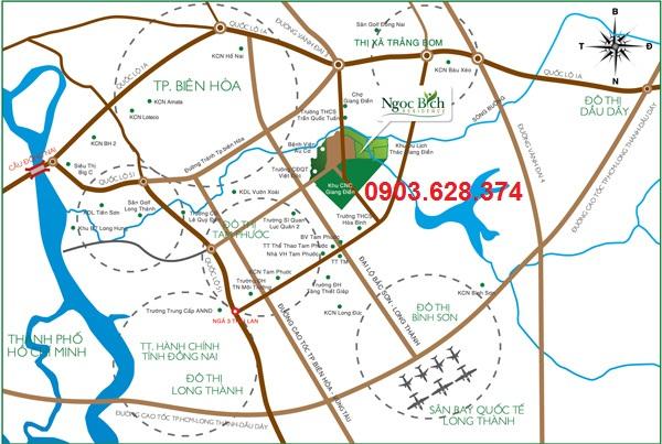 Đất nền nghỉ dưỡng KDL Thác Giang Điền - Dự án Ngọc Bích Residence, chỉ từ 3,4tr/m2, tặng xe SH trong 4 ngày đầu tiên mở bán