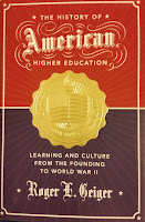 Geiger - History of American Higher Education Book Cover