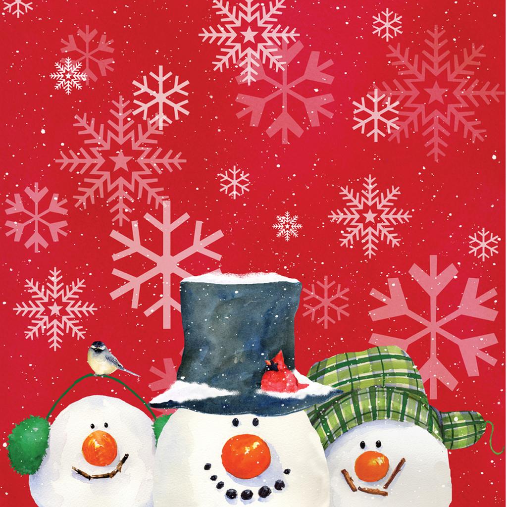 Free Download Christmas Snowman Ipad Wallpaper