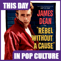"""Rebel Without a Cause"" opened in theaters on October 27, 1955."