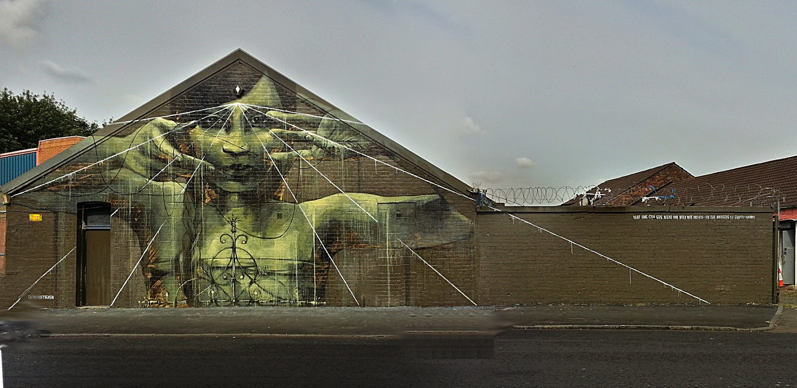 Faith 47 , recoat , Commonwealth 2014, Glasgow