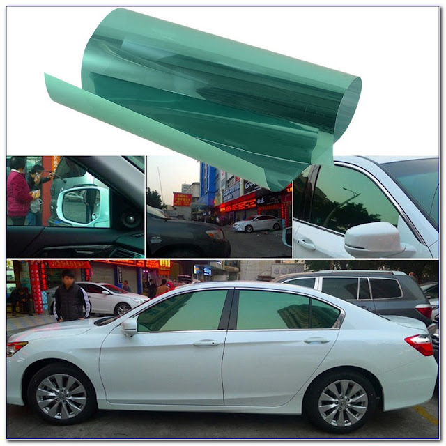 Green WINDOW TINT Film For Sale