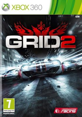 یاری بۆ ئێكس بۆكس GRID 2 xbox 360 torrent