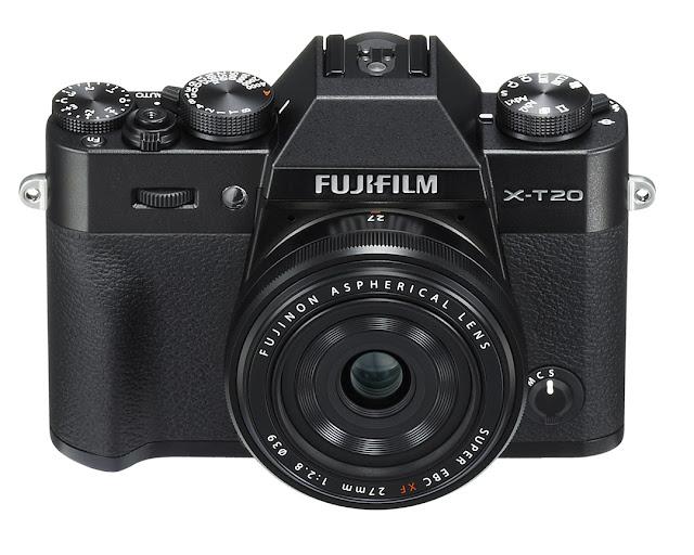 Fotografia della Fuji X-T20 con il 27mm f/2.8