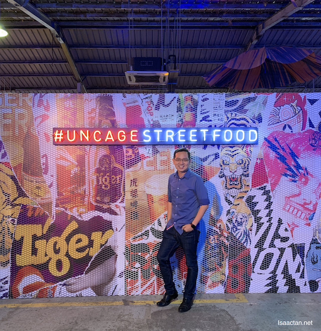 Uncage Street Flavours with Tiger Beer - #UncageStreetFood