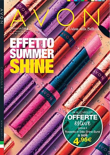 06a09e6cdd1c E  disponibile on line il nuovo catalogo AVON della campagna 9 con le  migliori offerte estive!