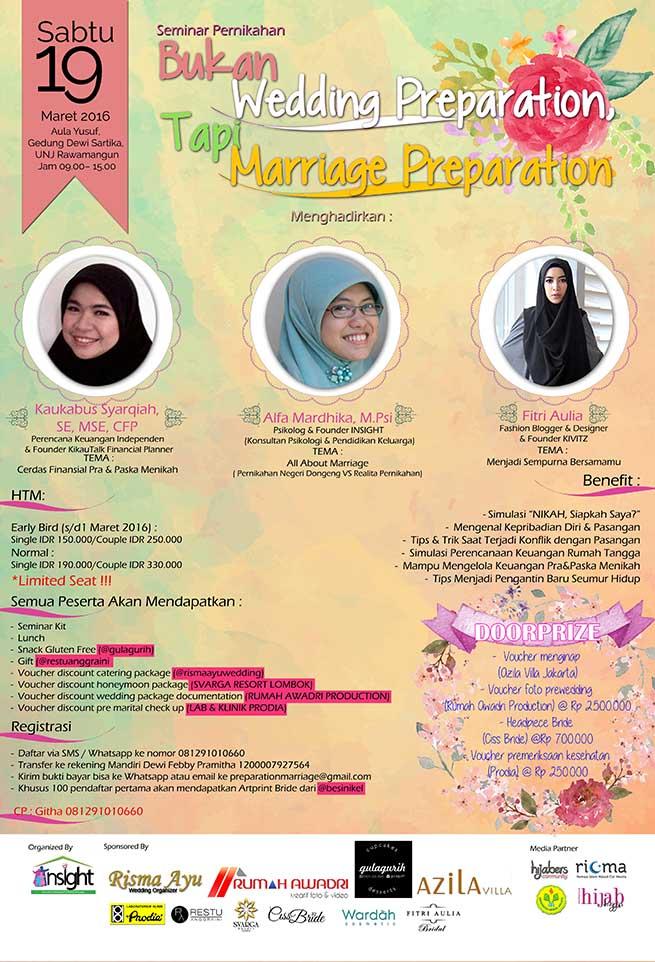 seminar pernikahan