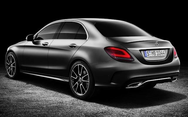 Novo Mercedes-Benz Classe C 2019 - traseira