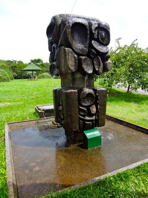 Parque Villa-Lobos - Escultura de Calabrone