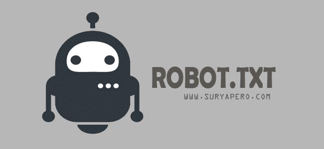 walaupun 1 fitur tapi bisa mempertinggi alexa blog anda sendiri. maka dari itu anda wajib menggunakan fitur robot.txt di blogger anda. bagaimana kah cara setting robot di txt ?
