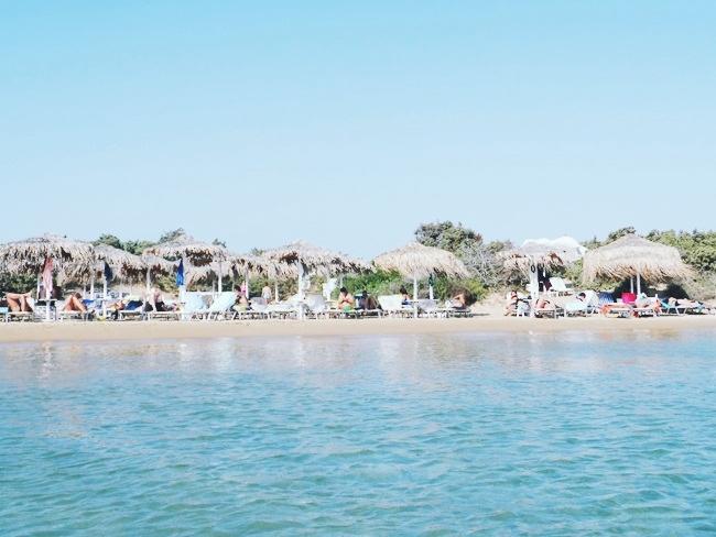 Mikri Santa beach Paros island