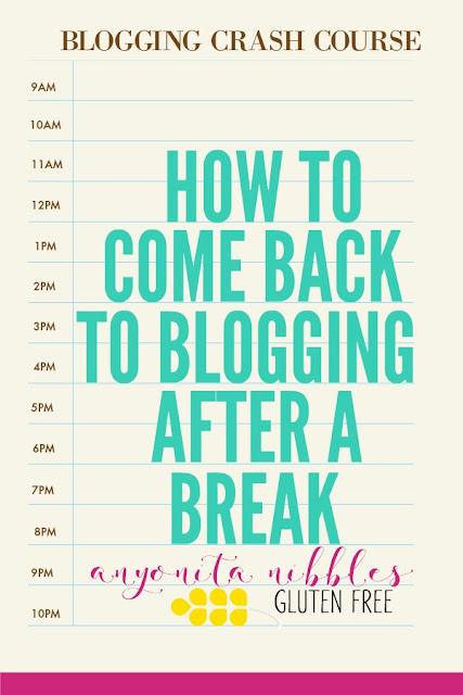Discover the 6 steps necessary to come back to blogging after a break and get back into your groove!