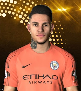 PES 2017 Faces Ederson Moraes by Facemaker Ahmed El Shenawy