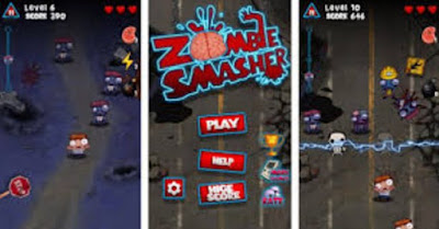 Zombie smasher android device