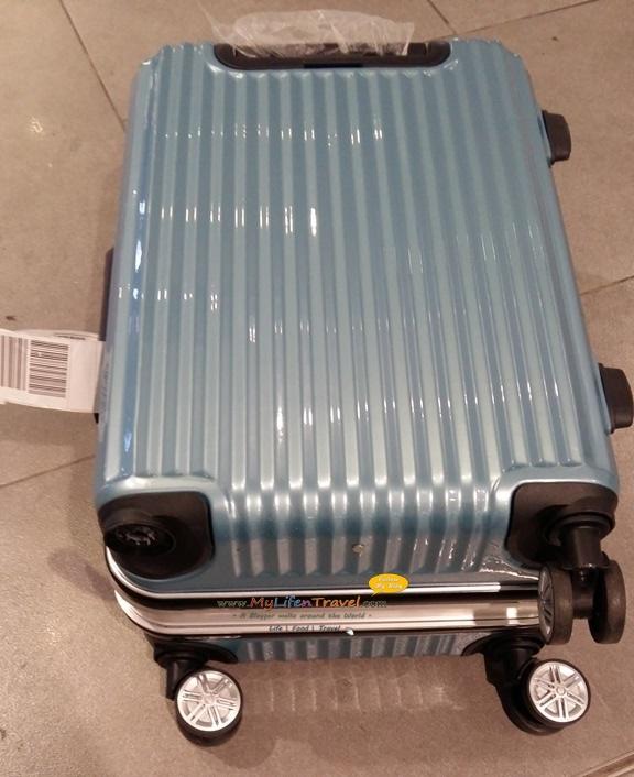 行李箱鎖被剪開!記得選擇有 TSA 海關鎖的行李箱 | 旅游博客王宏量