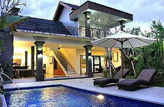 2 bedroom villa rent yearly Kuta