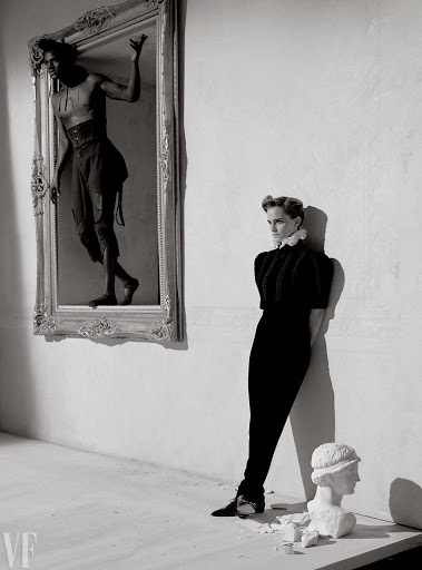 Emma Watson topless photoshoot for Vanity Fair magazine