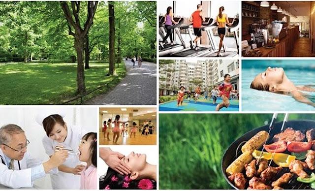 Các tiện ích chăm sóc sức khỏe chung cư B1.3 Thanh Hà