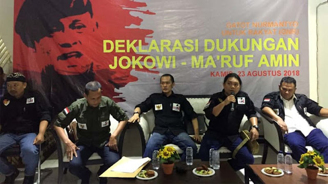 Dukung Jokowi, GNR: Kami Tak Bawa Nama Pak Gatot