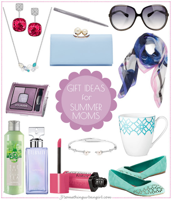 Pretty Mother's Day Gift Ideas for Summer Moms by 30somethingurbangirl.com