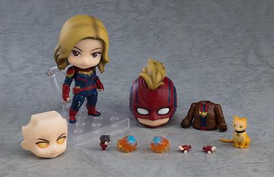 Figuras: El Nendoroid de Capitana Marvel se une a la colección de figuras de Good Smile Company