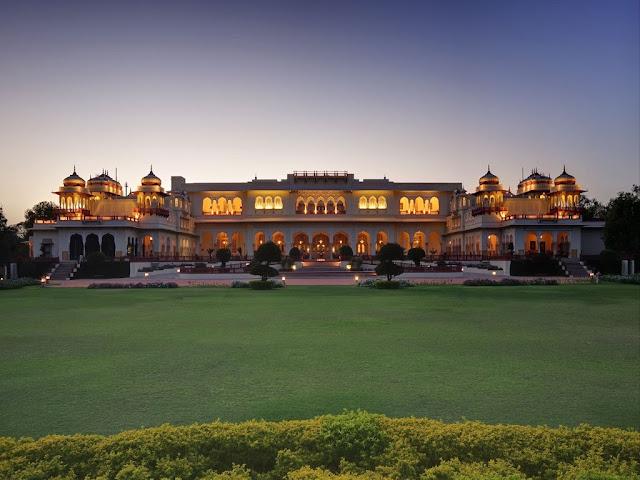 Taj Rambagh Palace,Jaipur