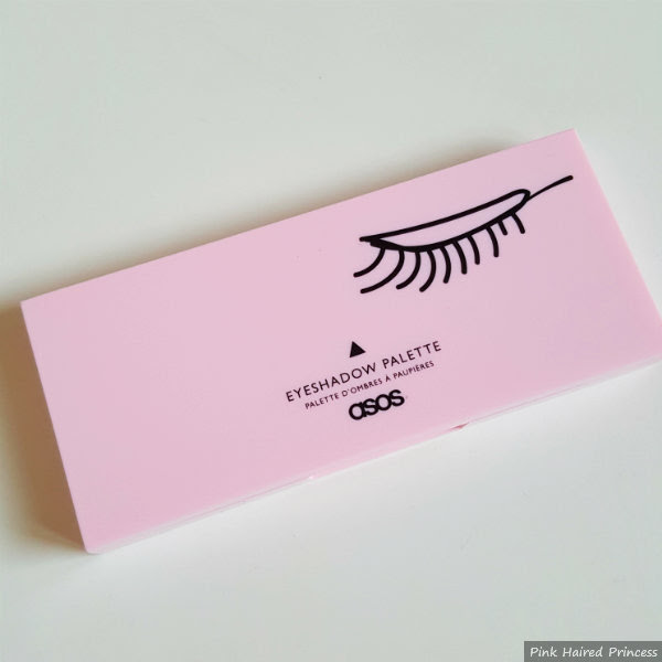 closed pink compact of asos out out eyeshadow palette