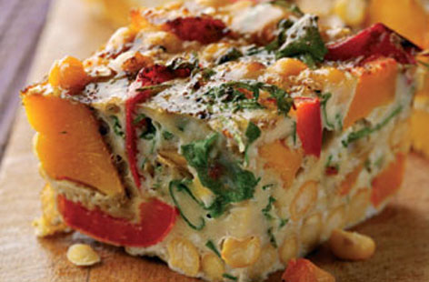 Omelette and Frittata Recipes FrittataNorth-African-inspired